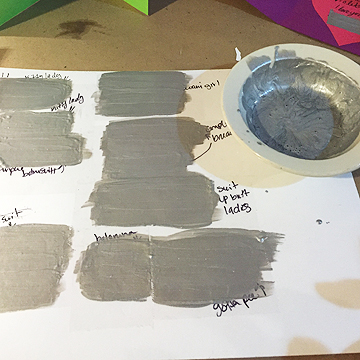 It will take about three to five thin layers of paint to cover your phrase or picture depending on the color of paint you use and the image you are covering. Katie got a bit impatient with this process and her scratch-offs ended up being a bit streaky. Don't be like Katie.